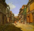 Le Rue de La Bavolle at Honfleur Claude Monet