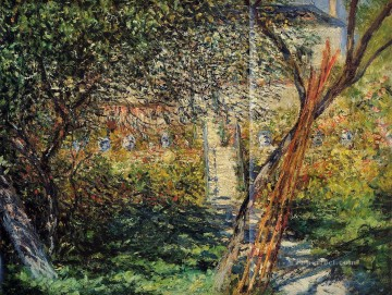 Monet s Garden at Vetheuil Claude Monet Oil Paintings