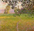 Morning Landscape Giverny Claude Monet