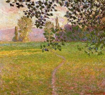 Morning Landscape Giverny Claude Monet Oil Paintings