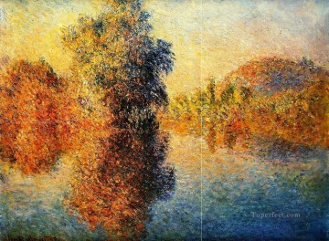 Morning Painting - Morning on the Seine Claude Monet