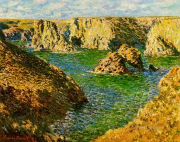 Don Art - Port Donnant Belle Ile Claude Monet