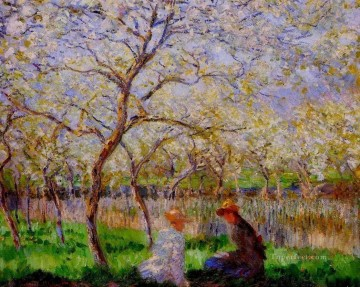 Springtime Claude Monet Oil Paintings