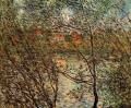 Springtime through the Branches Claude Monet