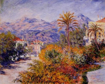 Strada Romada in Bordighera Claude Monet Oil Paintings