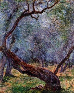 Study of Olive Trees Claude Monet Oil Paintings