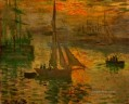 Sunrise aka Seascape Claude Monet