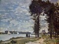 The Banks of the Seine at Argenteuil Claude Monet