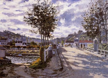 The Bridge at Bougival Claude Monet Oil Paintings