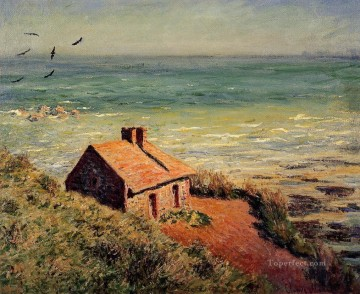 House Painting - The Custom House Morning Evvect Claude Monet