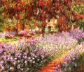 The Garden aka Irises Claude Monet