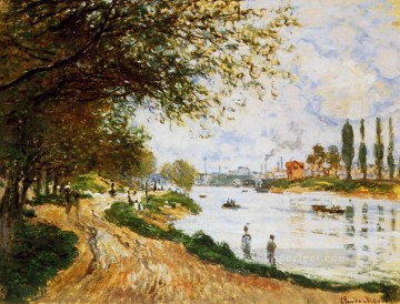 The Isle La Grande Jatte Claude Monet Oil Paintings