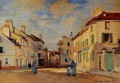 The Old Rue de la Chaussee Argenteuil II Claude Monet