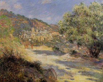 Carl Art Painting - The Road to Monte Carlo Claude Monet