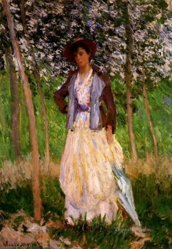 The Stoller Suzanne Hischede Claude Monet Oil Paintings