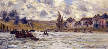 The Village of Lavacourt Claude Monet Oil Paintings