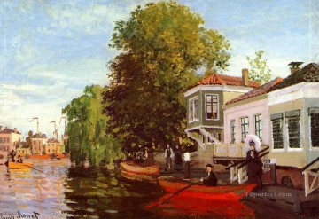 The Zaan at Zaandam II Claude Monet Oil Paintings
