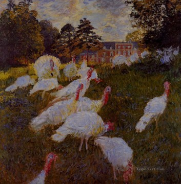 Turkeys Claude Monet Oil Paintings
