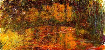 The Japanese Bridge 2 Claude Monet Oil Paintings