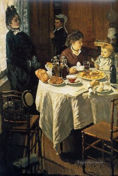 The Luncheon Claude Monet Oil Paintings