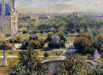 The Tulleries Claude Monet Oil Paintings