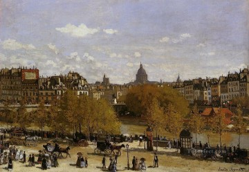 Quai du Louvre Claude Monet Oil Paintings