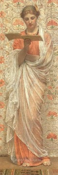 Albert Works - A Reader female figures Albert Joseph Moore