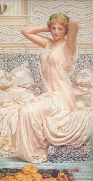 Silver Painting - Albert Silver female figures Albert Joseph Moore