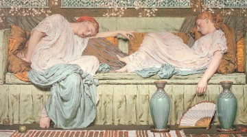 Apples Art - Apples female figures Albert Joseph Moore