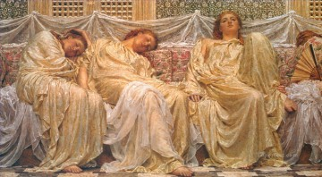 Dream Painting - Albert Dreamers female figures Albert Joseph Moore