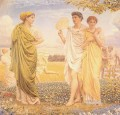 The Loves of the Winds and the Seasons female figures Albert Joseph Moore