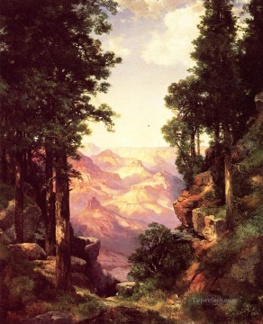 Grand Canyon Rocky Mountains School Thomas Moran Oil Paintings