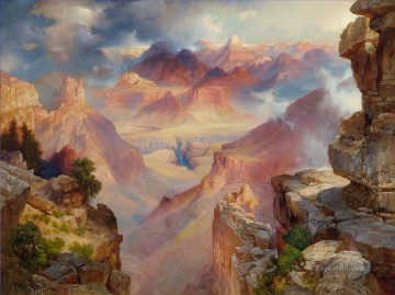 Artworks by 350 Famous Artists Painting - Grand Canyon Thomas Moran