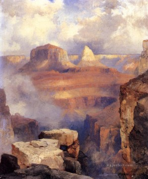 Grand Canyon2 Rocky Mountains School Thomas Moran Oil Paintings