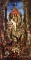 Jupiter and Semele Symbolism biblical mythological Gustave Moreau