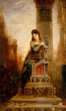 Desdemone Symbolism biblical mythological Gustave Moreau Oil Paintings