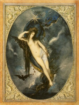 Symbolism Canvas - night Symbolism biblical mythological Gustave Moreau