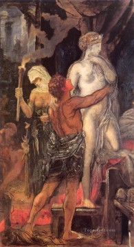 Symbolism Works - Messalina Symbolism biblical mythological Gustave Moreau