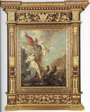 Symbolism Works - andromeda Symbolism biblical mythological Gustave Moreau