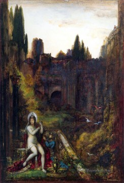 bathsheba Symbolism biblical mythological Gustave Moreau Oil Paintings