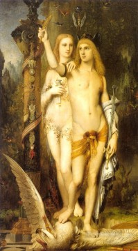 jason Symbolism biblical mythological Gustave Moreau Oil Paintings