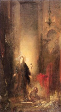 Symbolism Works - st margaret Symbolism biblical mythological Gustave Moreau