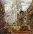the triumph of alexander the great Symbolism biblical mythological Gustave Moreau