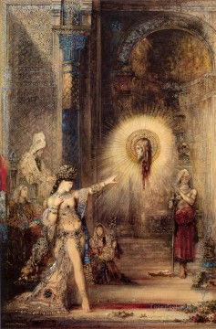 the apparition Symbolism biblical mythological Gustave Moreau Oil Paintings