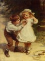Sweethearts rural family Frederick E Morgan
