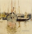 Boats Entry to the Medina in the Isle of Wight Berthe Morisot