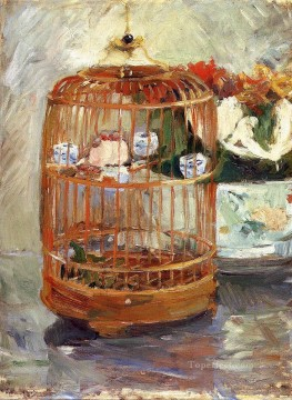 The Cage Berthe Morisot Oil Paintings