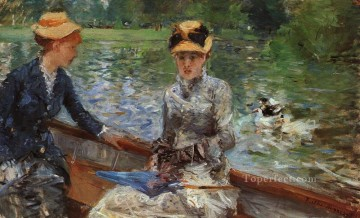 A Summers Day Berthe Morisot Oil Paintings