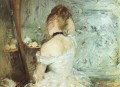 A Woman at her Toilette Berthe Morisot