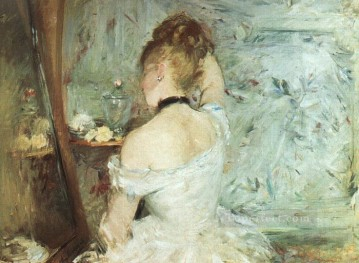 A Woman at her Toilette Berthe Morisot Oil Paintings